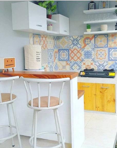 Gambar Dapur Minimalis Sederhana Mungil Rumah 2017