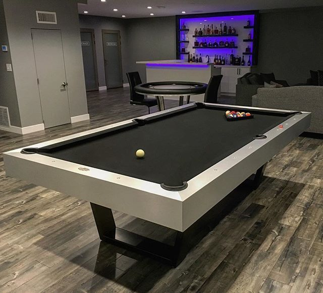 Playing Billiards Is A Past Time Favorite For Most Men And