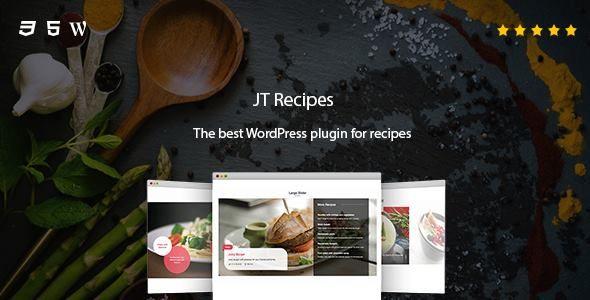 JT Recipes - The best WordPress plugin for recipes