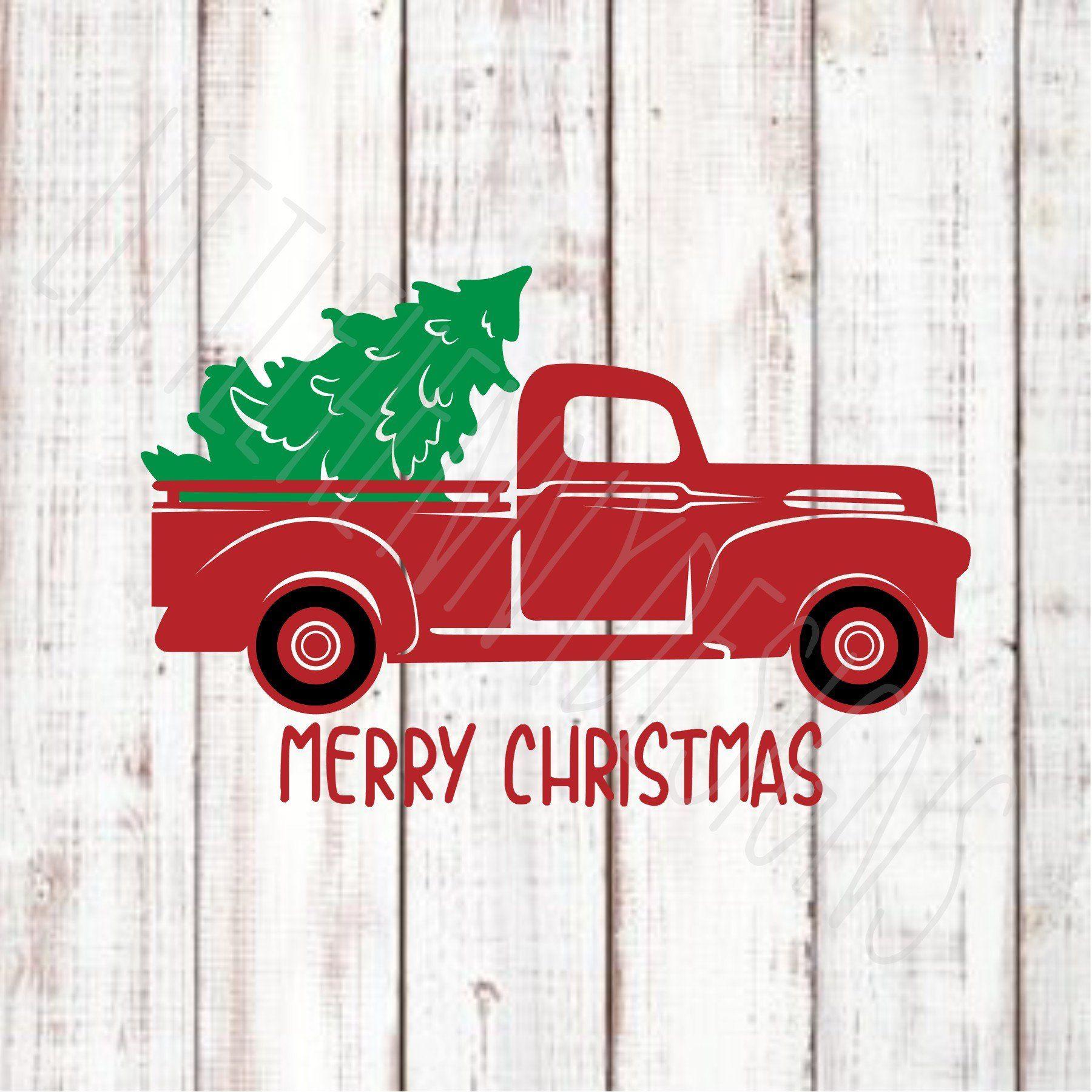 Christmas Tree Truck Svg Free.Christmas Svg Svg For Sign Truck Svg Christmas Tree