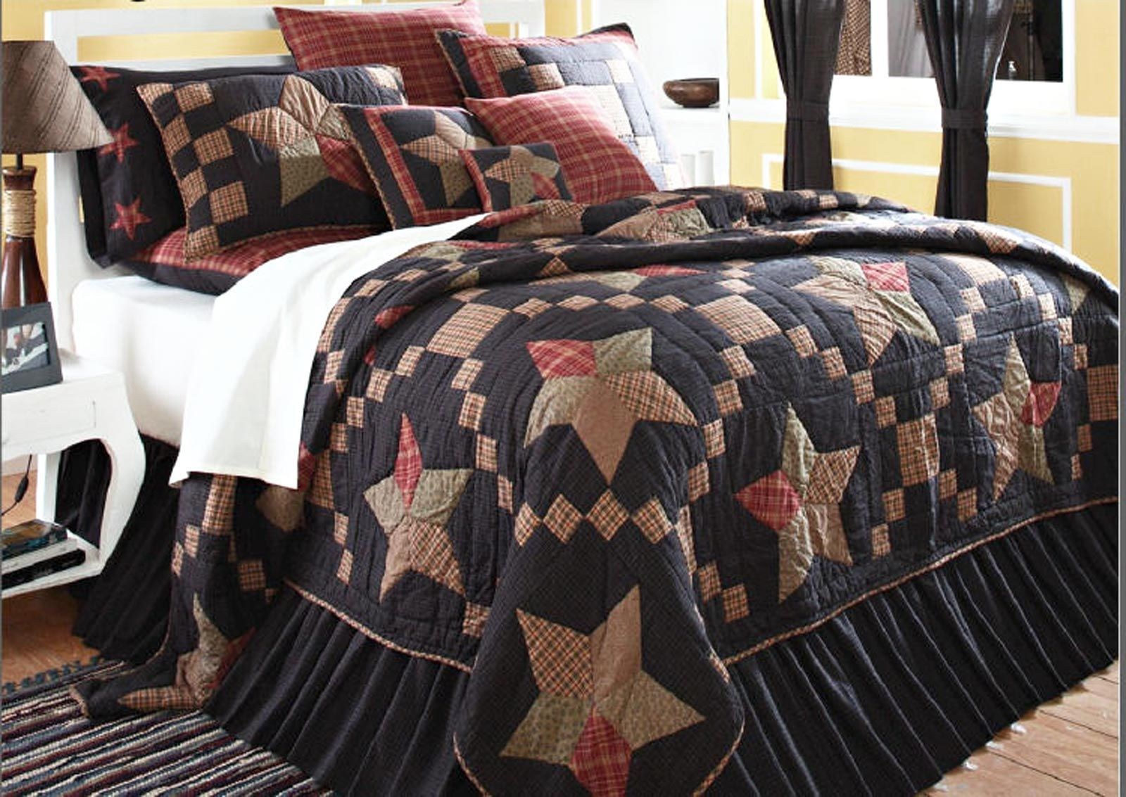 Country+Patchwork+Quilts | ... -quilt-arlington-sturbridge ... : country star quilt - Adamdwight.com