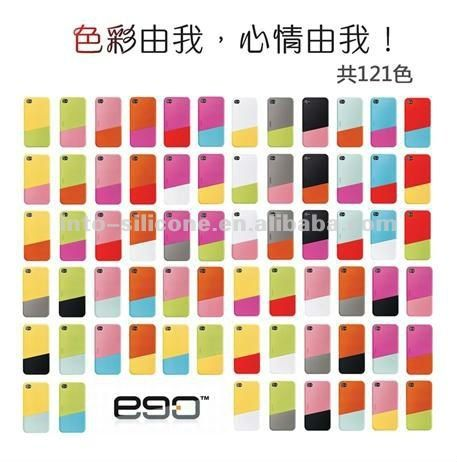 Ego Two Color Combination Of Upper And Lower Slider For Iphone 4 4s