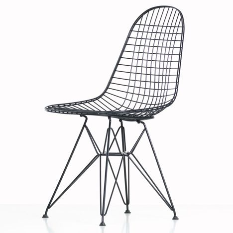 vitra adapts eames wire chair for outdoor use. Black Bedroom Furniture Sets. Home Design Ideas
