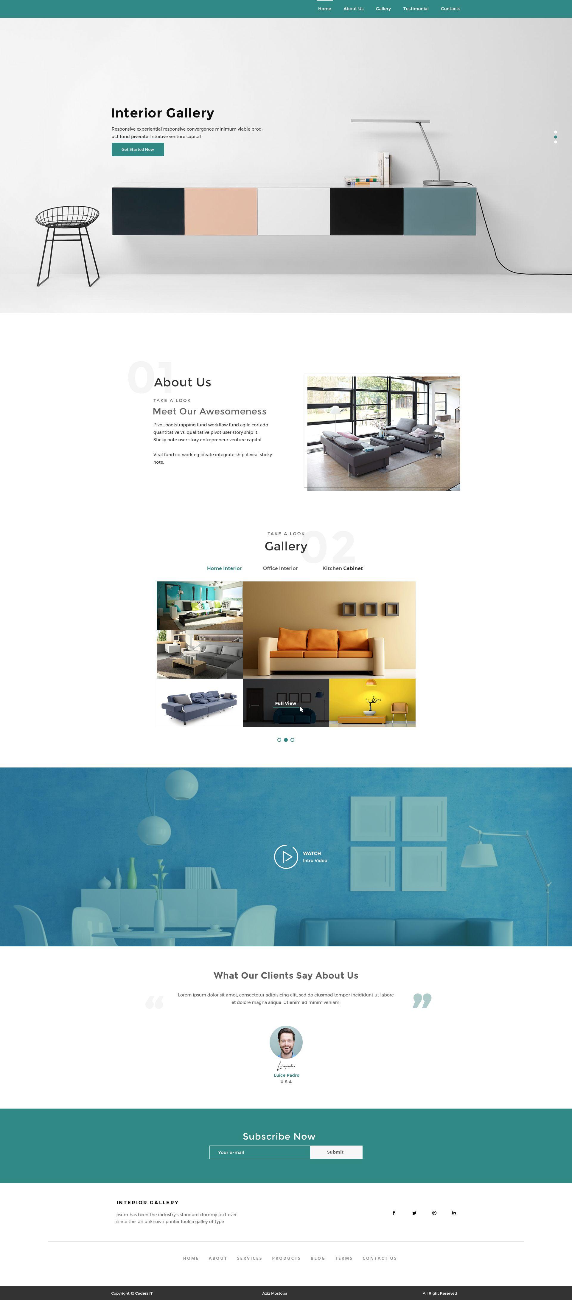 Interior Web Layout Design Web Design Inspiration Web Design