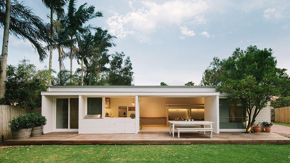 Byron Bay Studio House Roof Design Beach House Exterior House Design
