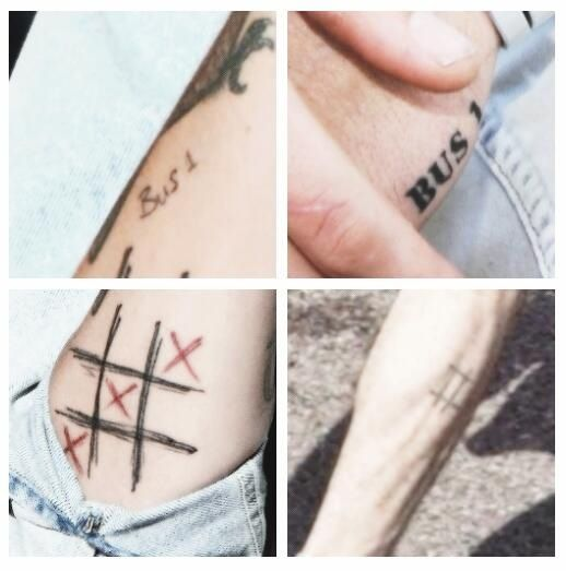 Zouis Matching Tattoos One Direction Tattoos Matching Tattoos Tattoos