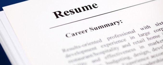The Art of Resume Writing MyColLife Student Blog Pinterest