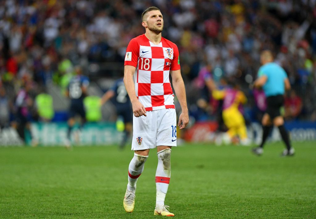 Ante Rebic Photos Photos France V Croatia 2018 Fifa World Cup Russia Final Manchester United Fifa World Cup Fifa