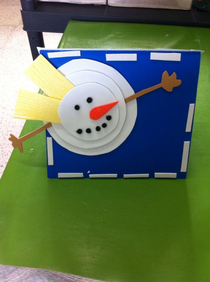 Tarjeta #craft #navidad