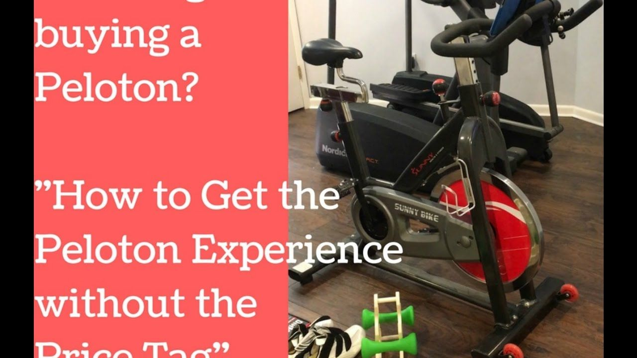 How To Use The Peloton App On Any Spin Bike Spin Bikes At Home