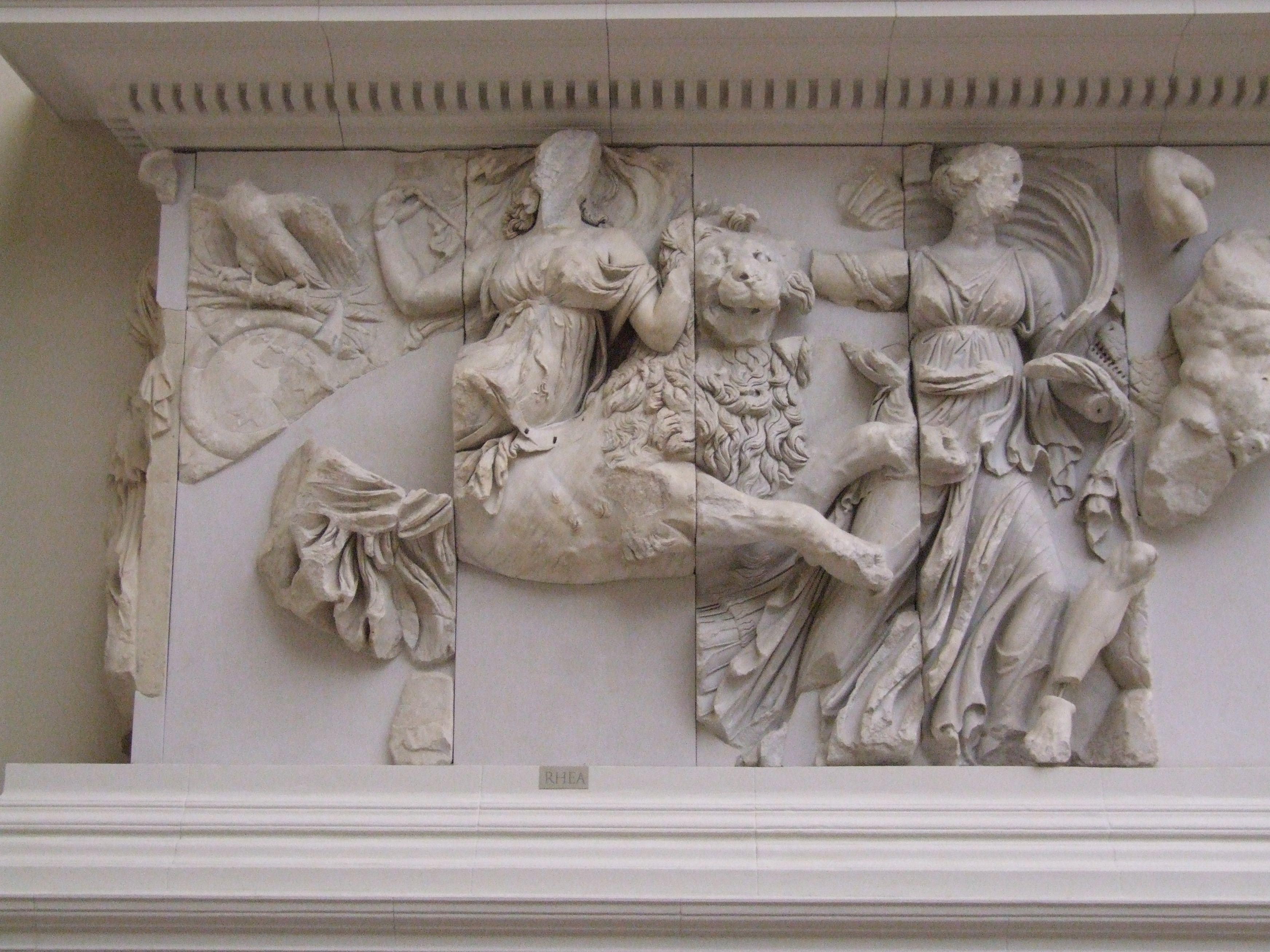 Pergamon Altar Portions In Berlin Museum Now Undergoing Restoration Pergamon Museum Reopens 2020 Zeus Namen