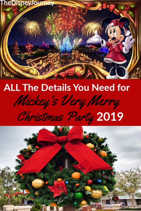 Mickeys Very Merry Christmas Party 2019.Mickey S Very Merry Christmas Party Guide 2019 Travel