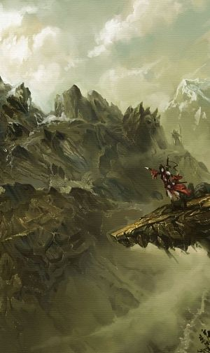 4ecae74ce ファンタジー 騎士と大自然のiPhone壁紙 | 壁紙キングダム スマホ版 ...