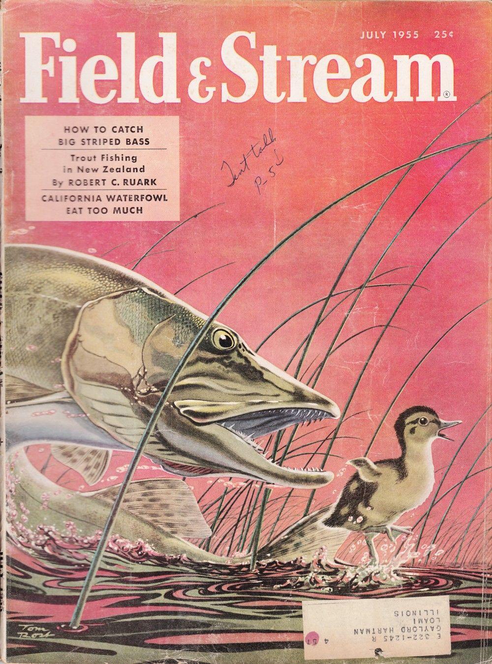 fishing stream field books and