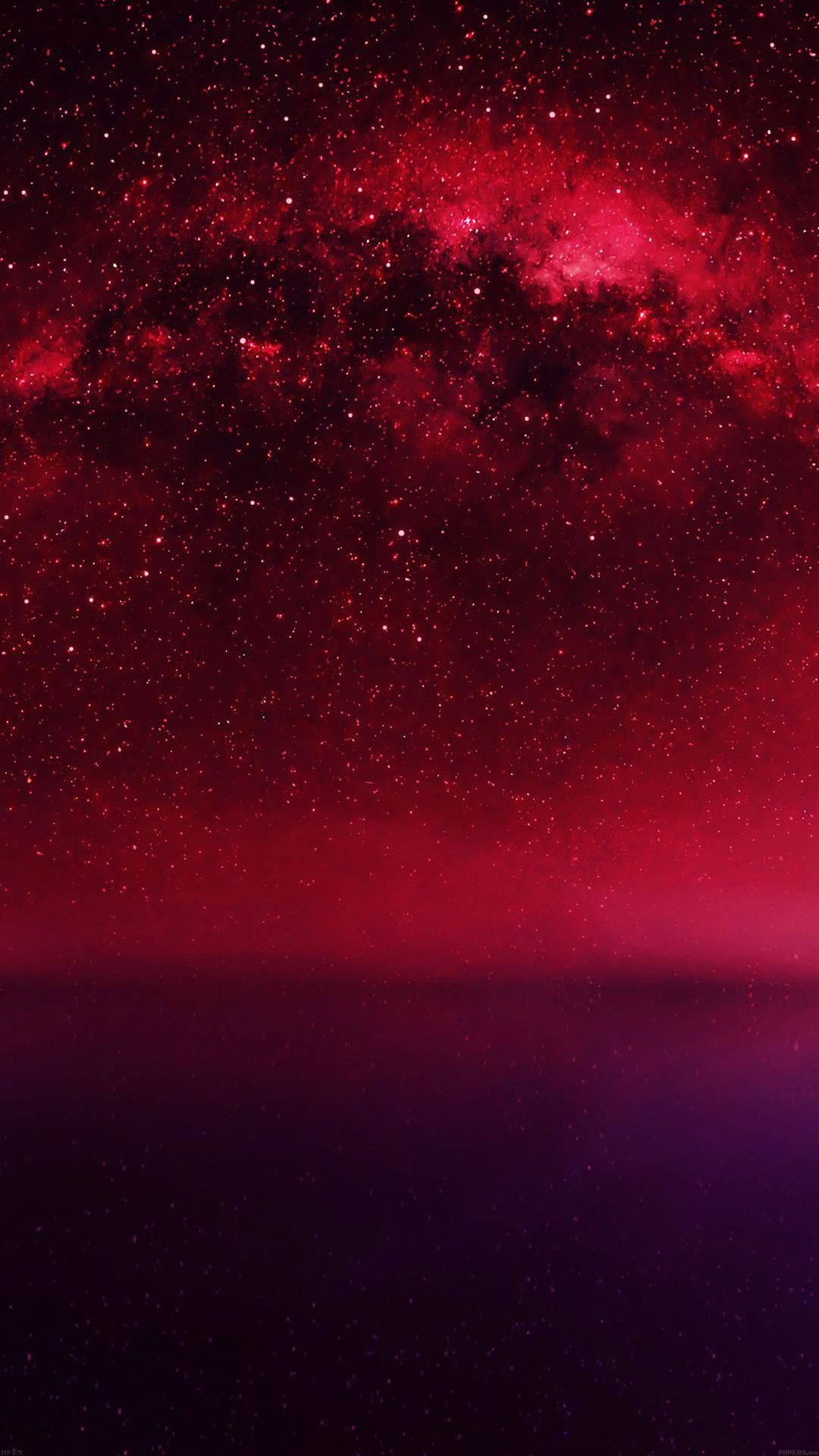 Cosmos Red Night Live Lake Space Starry Iphone 6 Wallpaper Takinggreatpicswithaniphone Space Iphone Wallpaper Iphone 5s Wallpaper Live Wallpaper Iphone