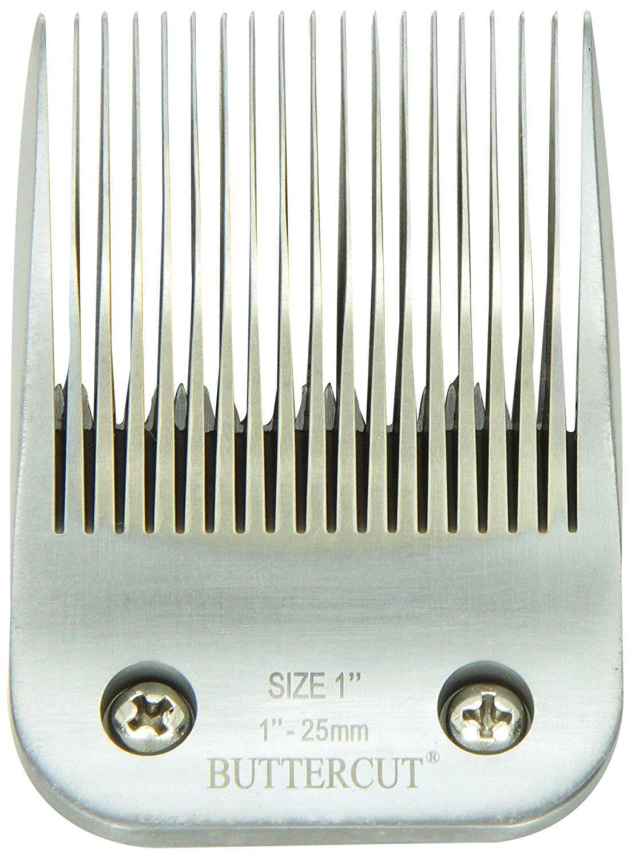 Size-7F 1//8-Inch Cut Length Geib Buttercut Stainless Steel Dog Clipper Blade
