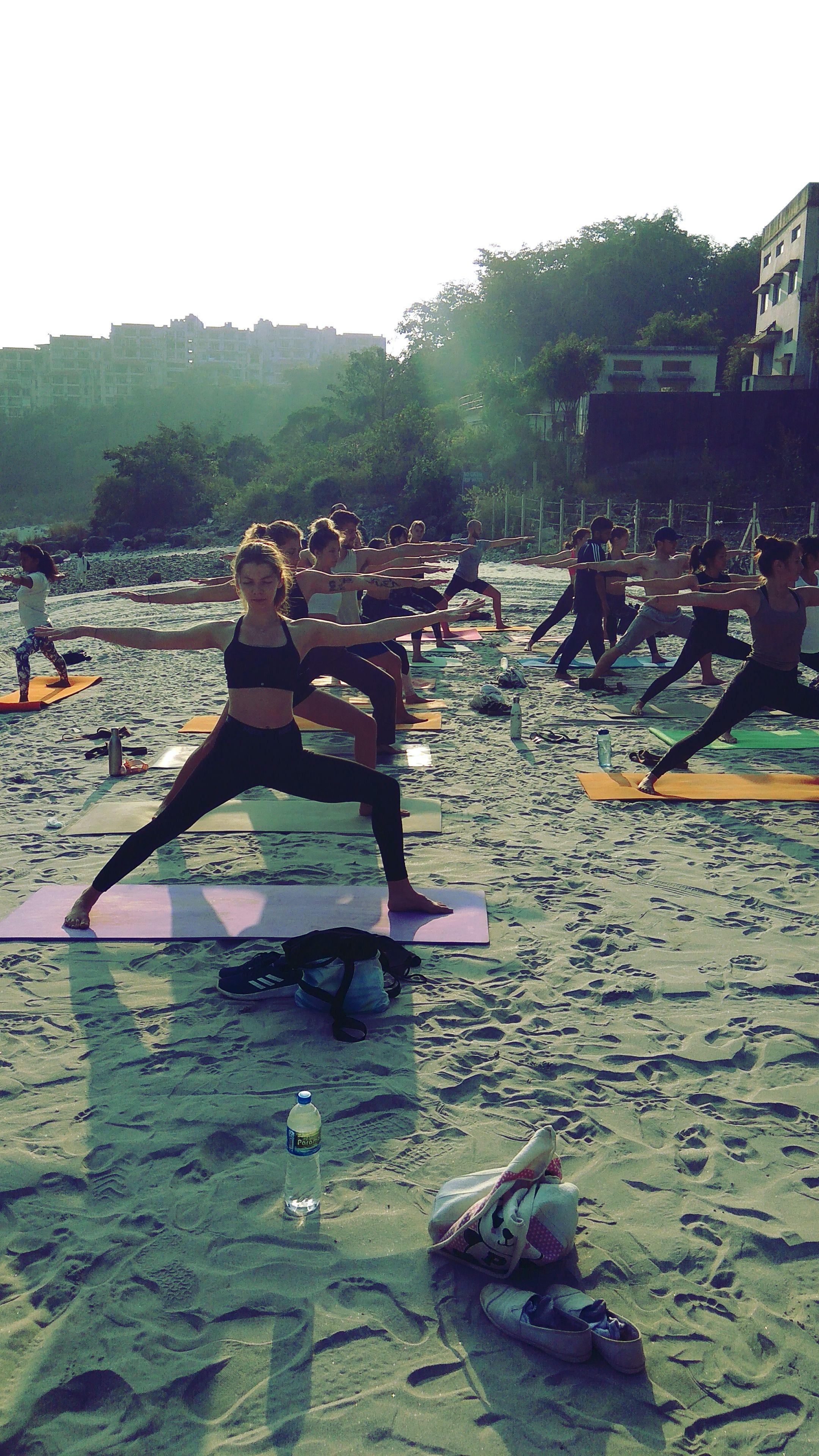 Learn Ashtanga Vinyasa Flow Yogic Asana Under Our 28 Days Yoga Teacher Training Course In R Yoga Teacher Training Yoga Teacher Training Rishikesh Ashtanga Yoga