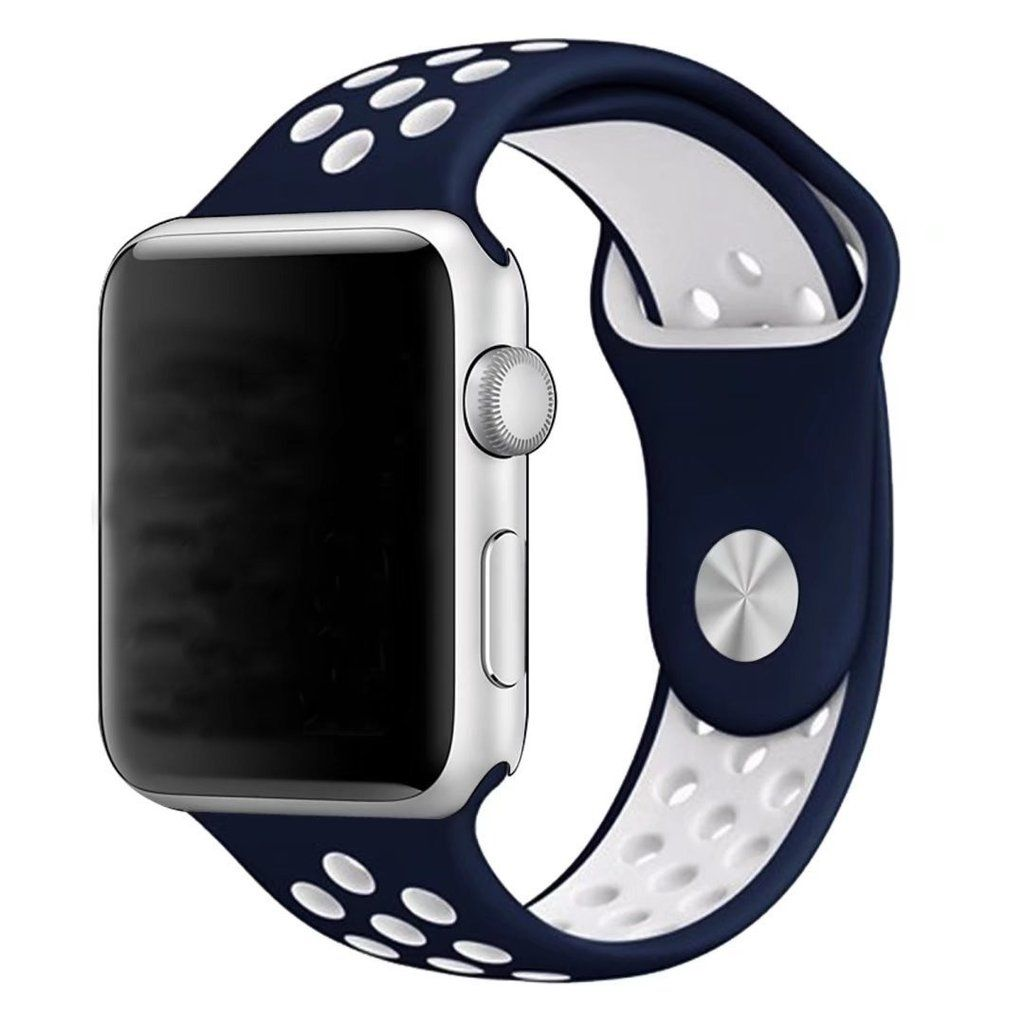 Silicone Nike Band for Apple Watch Series 1, 2 Size 42mm