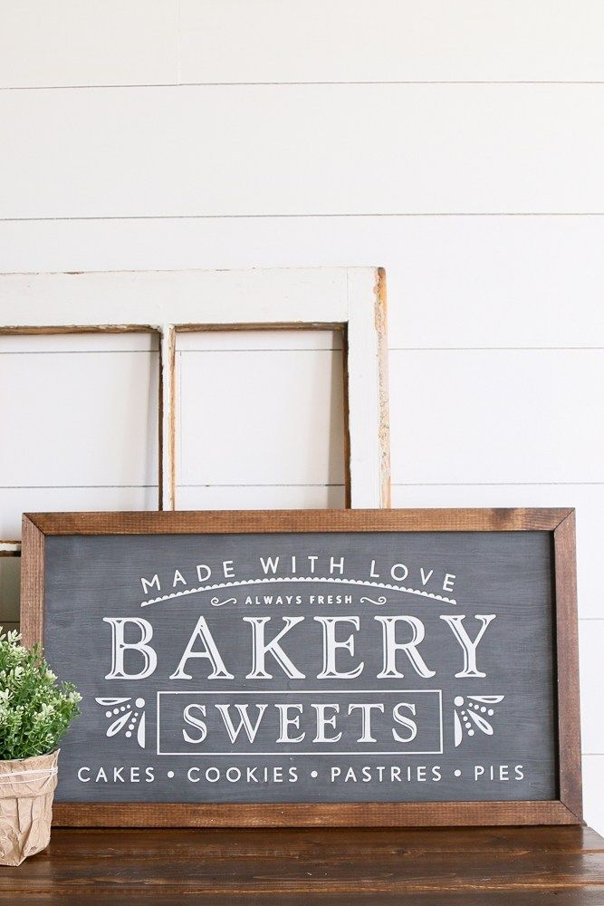Photo of A NEW SET OF FARMHOUSE WOOD SIGNS – A Fresh-Squeezed Life