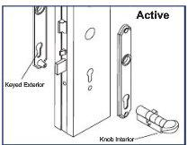 S4300anc Active Cylinder Not Included Hoppe Munchen Series M112pl 3965n Swinging Door Handle Sets Door Handle Sets Door Handles Swinging Doors