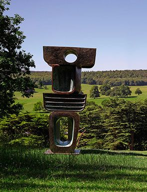 Barbara Hepworth, The Family of Man: Figure 1, Ancestor 1, 1970. Photo: Sotheby's.