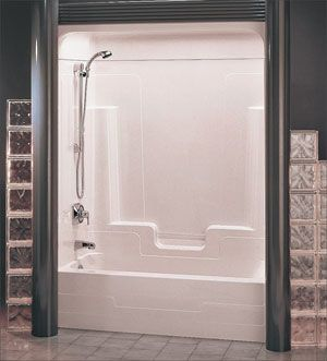 Monte Carlo 1 Piece 59 3 8 610 Roof Cap Available Shower Tub Roof Cap Tub