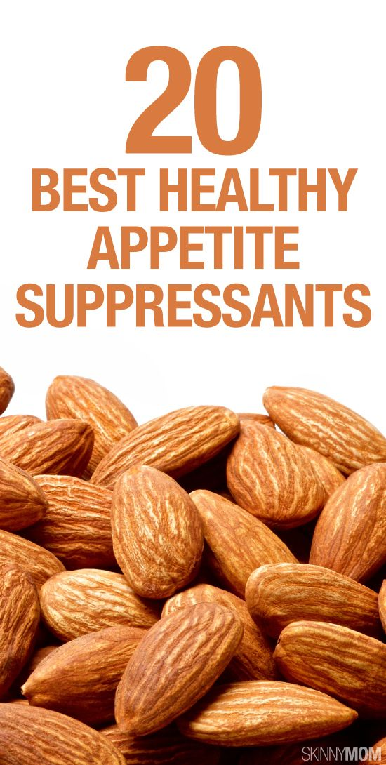 Healthy appetite suppressants to keep you feeling full.