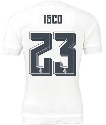 Real Madrid 15 16 Kit Font Released