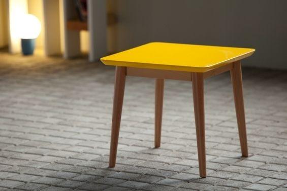 table basse m laquée jaune | tables | pinterest | table basse