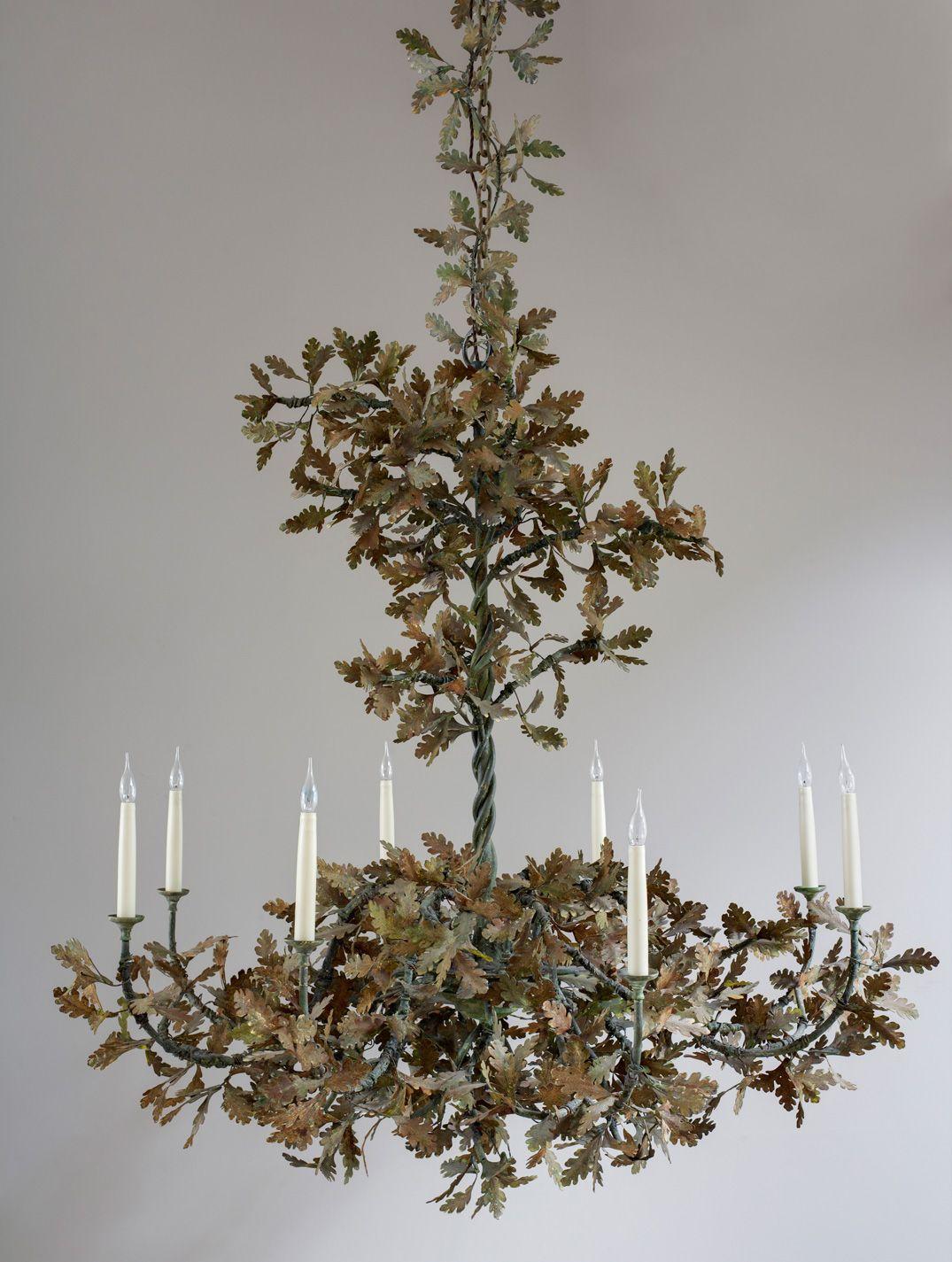 Oak leaf chandelier google search buying it pinterest oak oak leaf chandelier google search arubaitofo Choice Image