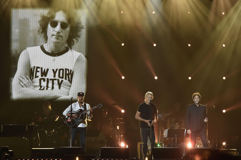 Fans Celebrate John Lennon's 76th Birthday John lennon