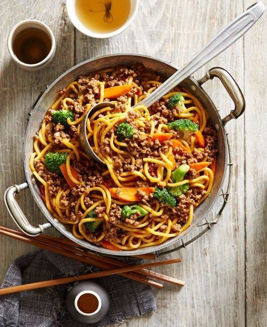 Hokkien Beef Noodles Recipe Easy And Delicious The Whoot Noodle Recipes Easy Minced Beef Recipes Fajita Recipe
