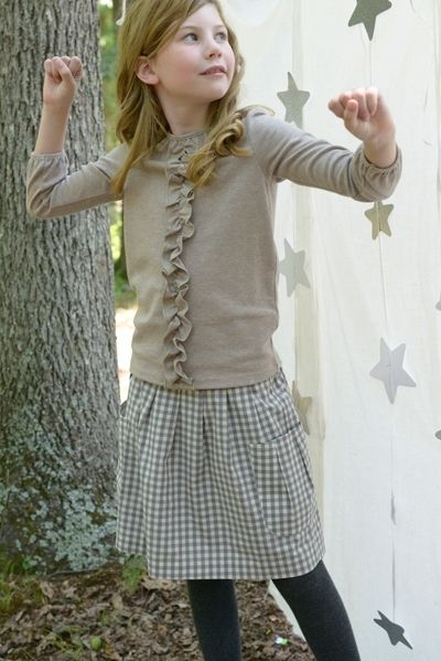 72ee438163c Love this outfit for the girls. Girls Clothes - Olive Juice