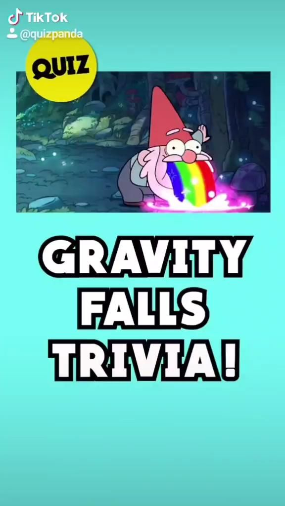 Video How Well Do You Actually Know Gravity Falls 10 Second Quiz By Quiz Panda Animasi Tv Gravity Falls