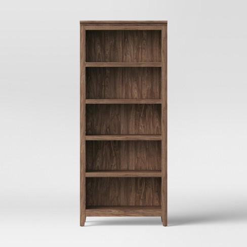 72 Carson 5 Shelf Bookcase Threshold 5 Shelf Bookcase