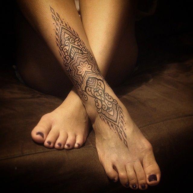 Bracelet Tattoo Design | Tattoo bein, Tattoo unterschenkel