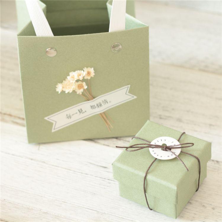 Free white sample 2018 mini paper cardboard suitcase gift