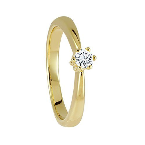 Diamond Line Damen Verlobungsring Gold Diamantring 585 1 Http