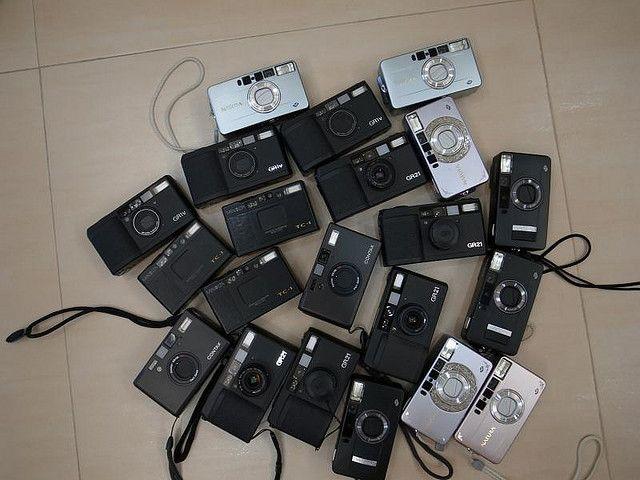 Black Minolta TC-1*3  Black Contax T3 *2  RICOH GR21 *5  RICOH GR1V* 3  Fujifilm Natura Black F1.9 *3  Natura S *5