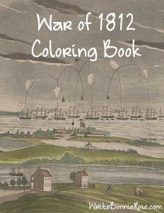 Book This Fun Coloring Is An Introduction To Some Of The People And Places War Including James Dolly Madison Francis Scott Key