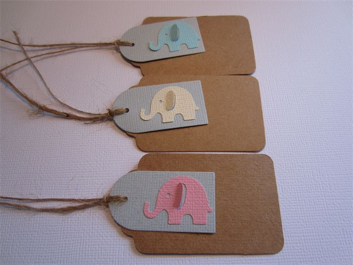 Elephant Tags - www.paperwithstyle.com.au