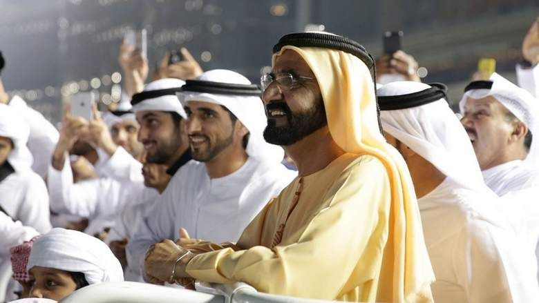 Horse racing has come home to dubai shaikh mohammed see