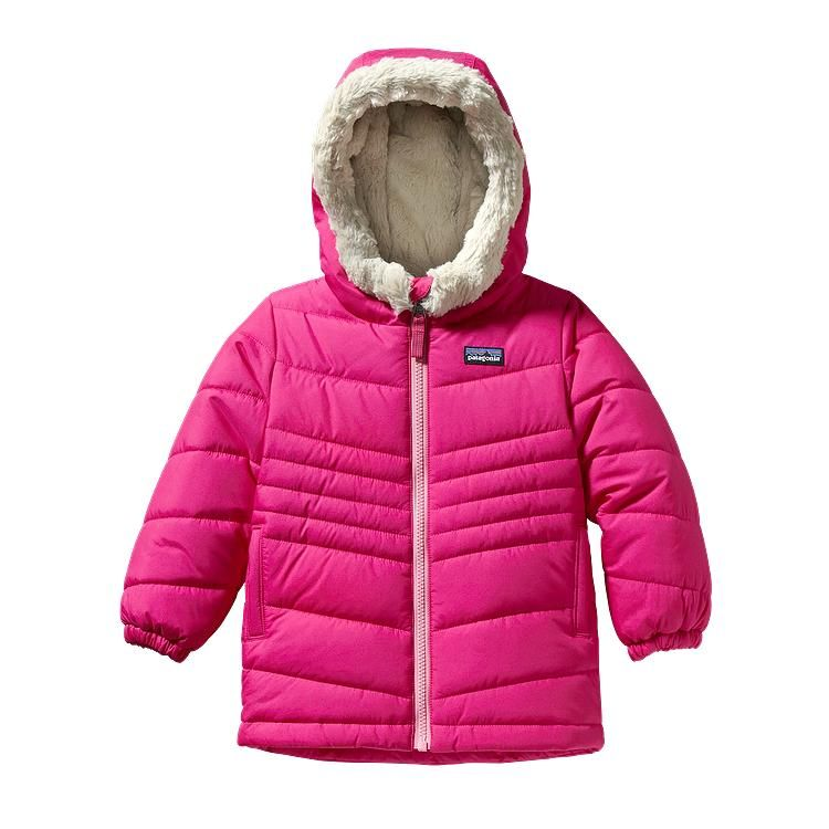 Patagonia Baby Wintry Snow Coat Radiant Magenta Rdmg