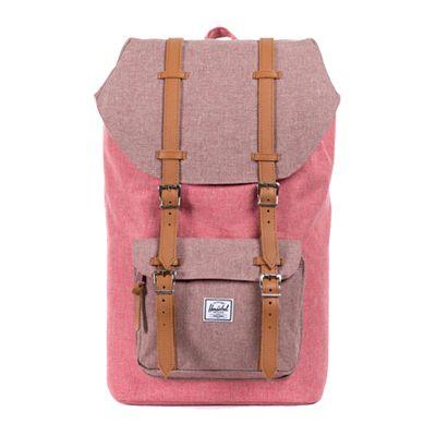 7f7793b2ef1 Herschel Supply Little America backpack in Rust Crosshatch ...