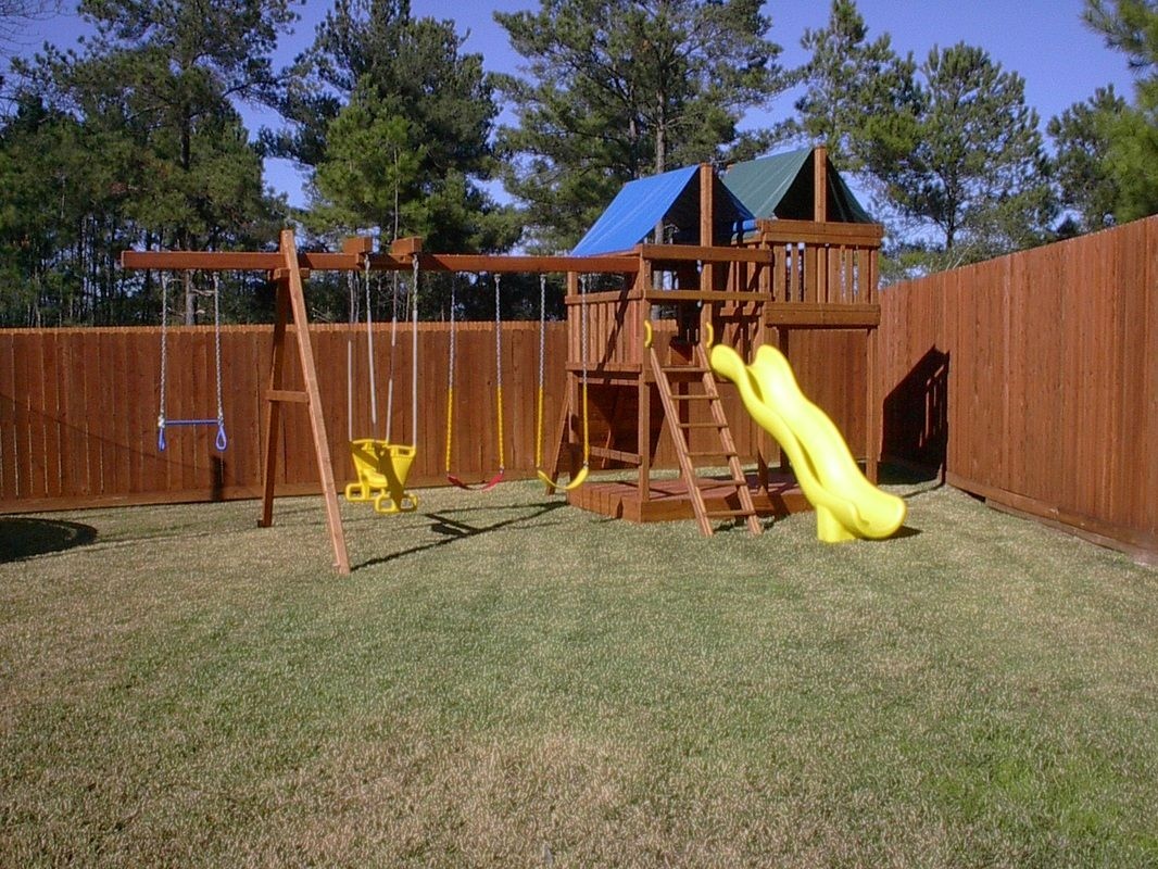 Do It Yourself Building Plans: How To Build DIY Wood Fort And Swing Set Plans From Jack's