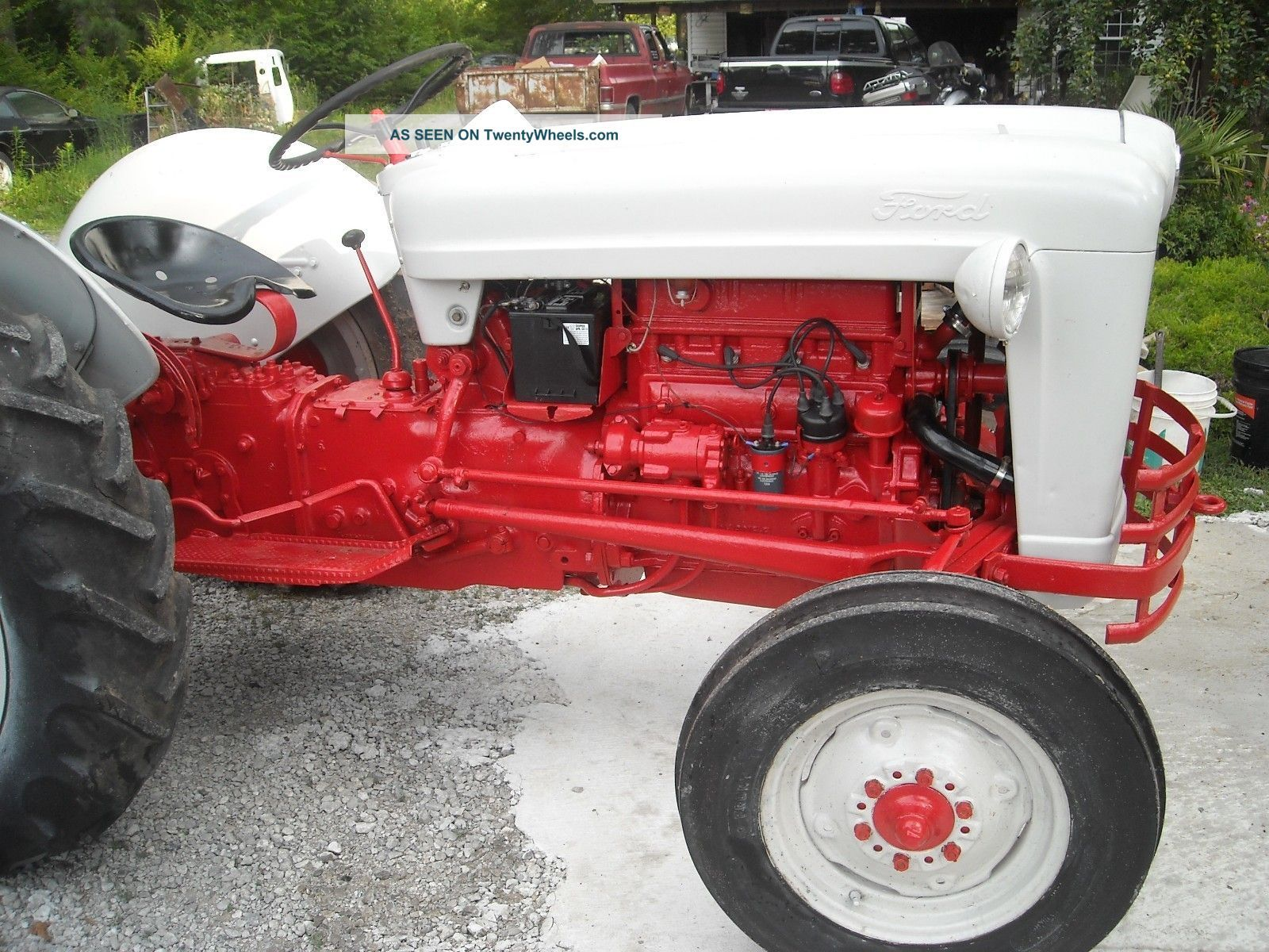 Ford Jubilee Tractor Ford Jubilee Naa 1954 Tractor Tractors