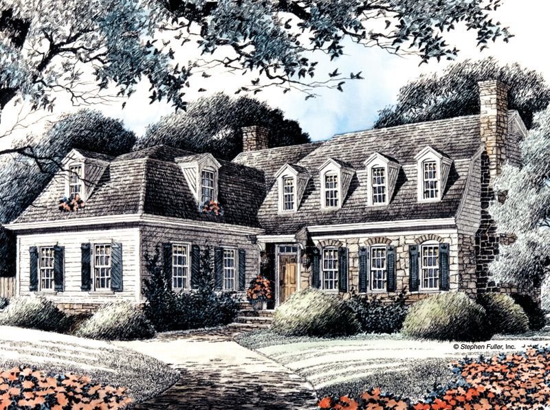 House Plan - Walden - Stephen Fuller, Inc. | Exteriors and ...