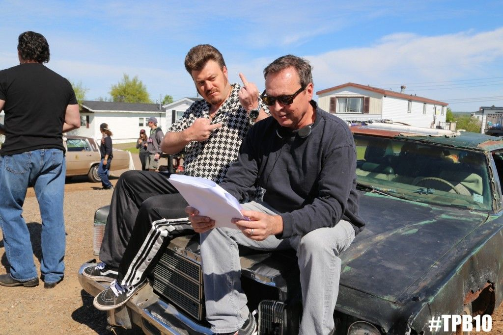 Bobby Farrelly directs Ricky in Trailer Park Boys S10!! #TPB10