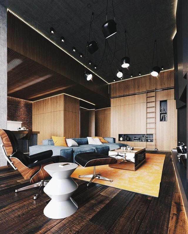 Eames Lounge Chair, Ottoman and Stool | Proyecto Casa | Pinterest ...