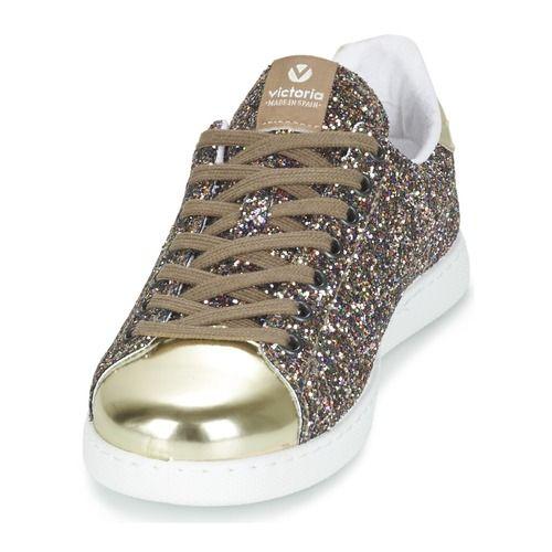 eaaabb336223 Baskets mode Victoria DEPORTIVO BASKET GLITTER Multicolore 350x350 Victoria  Chaussures Femme